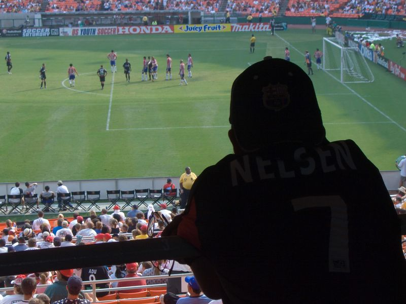 the spirit of Ryan Nelsen watches over DC United