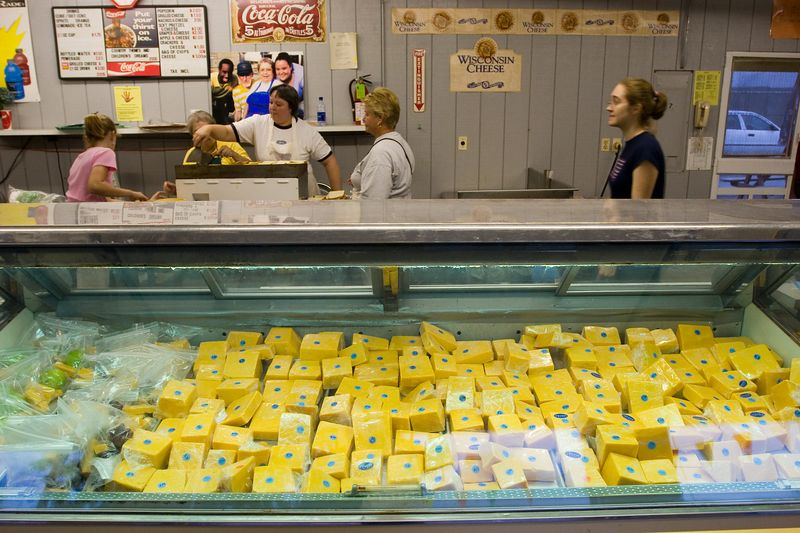 apparently, Wisconsin cheese is actually made in Montgomery County Maryland!