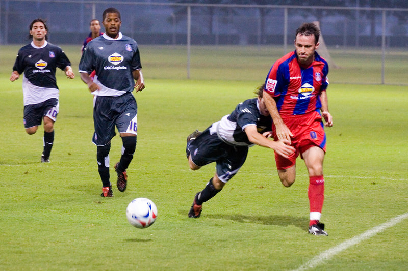 Freedman is still too fast for the Palace USA player who suddenly switches sports...