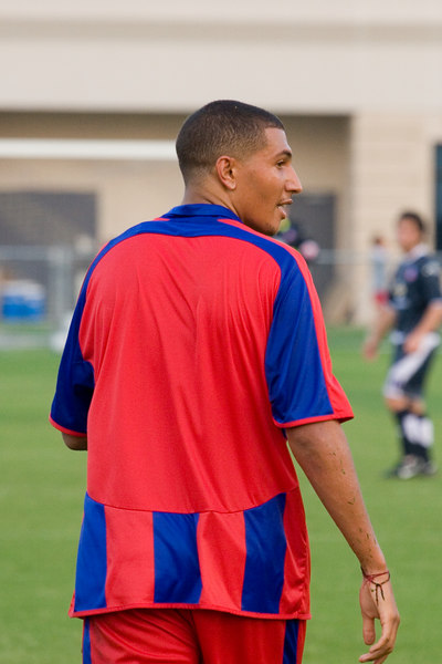 Jay Bothroyd plays without a number against Crystal Palace USA.