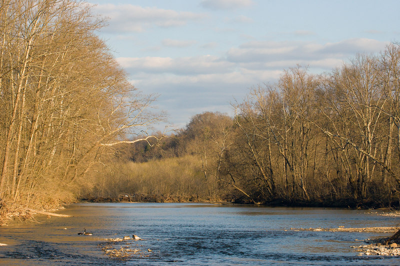the Maury river, from the Chessie Trail, Lexington VA