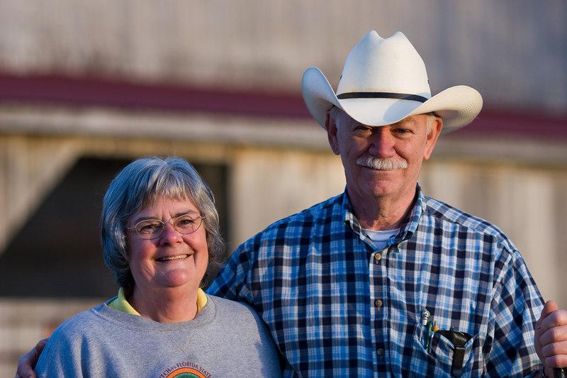 Elizabeth and Ron Jackson, Saville Hill Farm