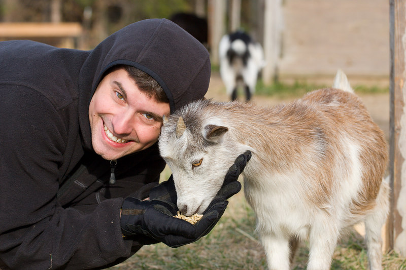tim, cheeseball goat whisperer wannabe