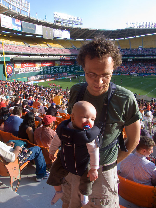 Rye's first DC United game (Alexi's 87th)