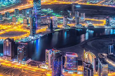 Night. Lights. Dubai.