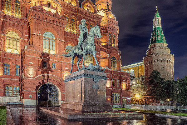 Monuments. Moscow