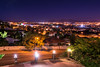 Night in Windhoek. Namibia.