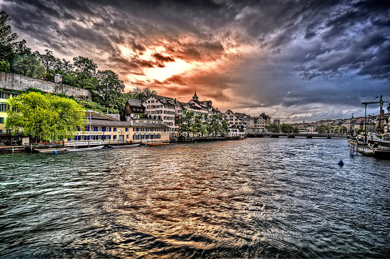 Limmat river in the Sky