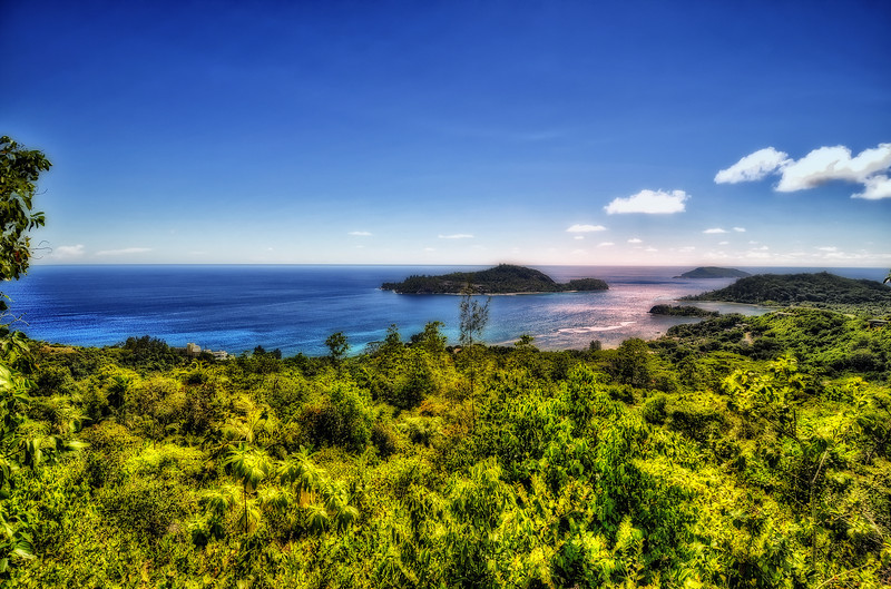 Seychelles, country side.
