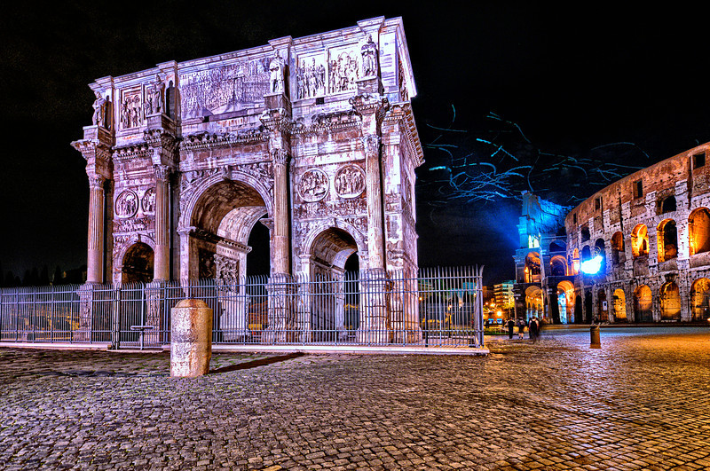 Arch of Constantine. Rome