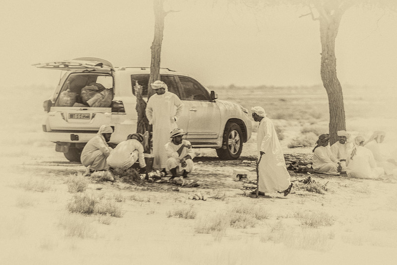 Picnic in Oman