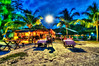 night in Cote d'Or, Praslin Island