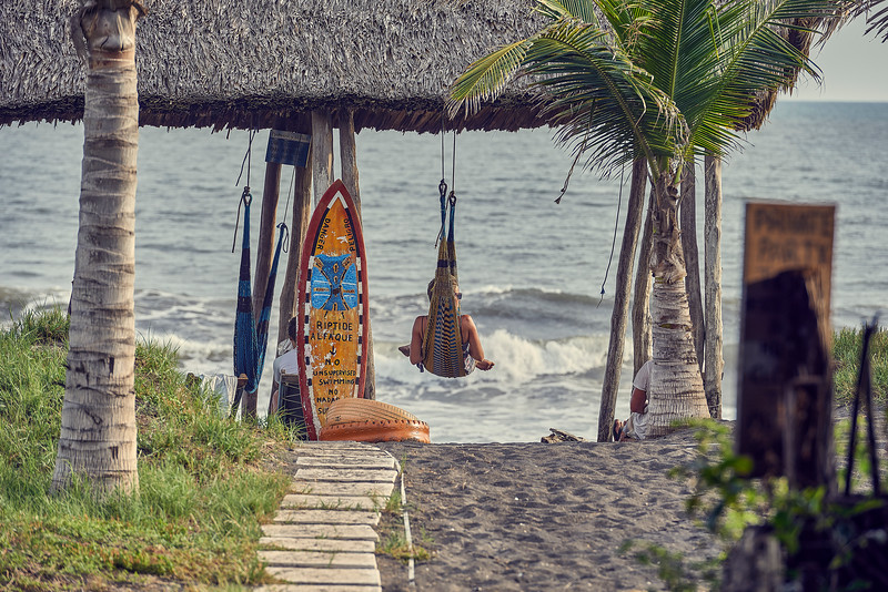 Guatemala. Waiting for waves