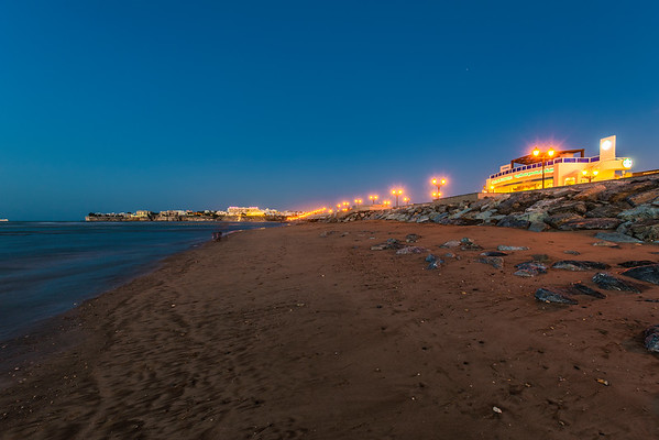 A night in Muscat