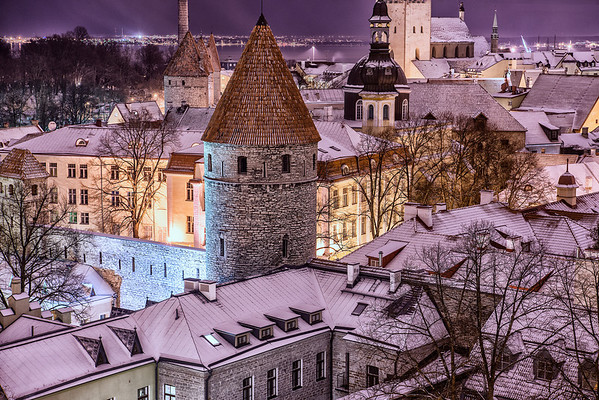 Winter in Tallinn