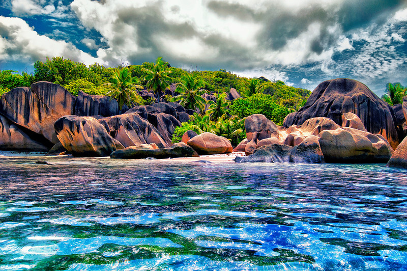 Anse Source d'Argent. La Digue