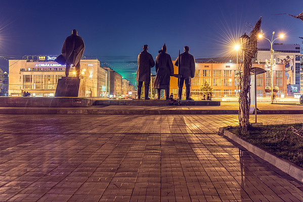 One night in Novosibirsk