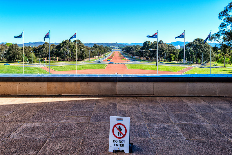 Empty Canberra
