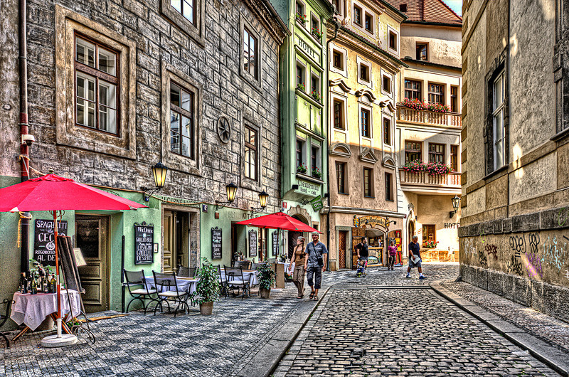 Lost in Prague. Classic HDR