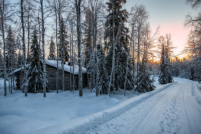Once in Finland.
