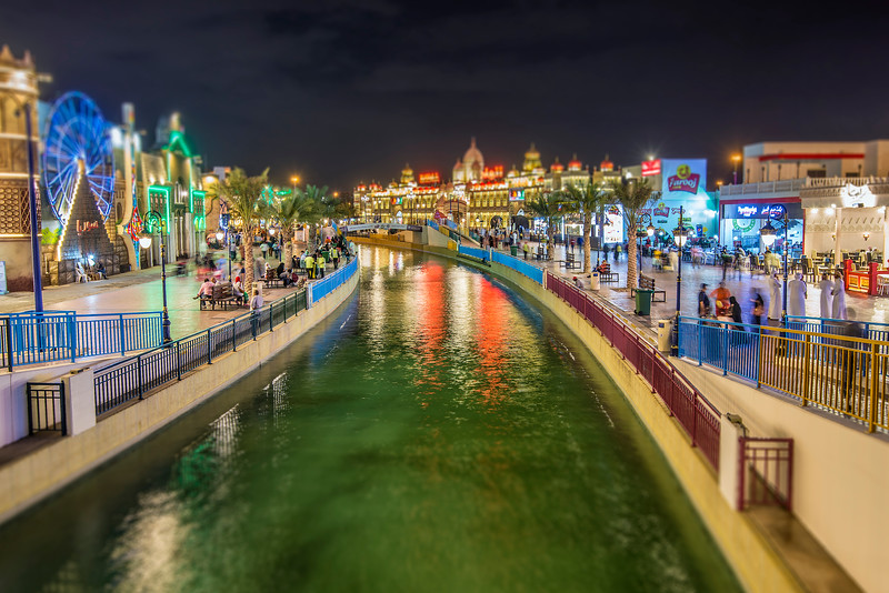 exploring Global Village in Dubai
