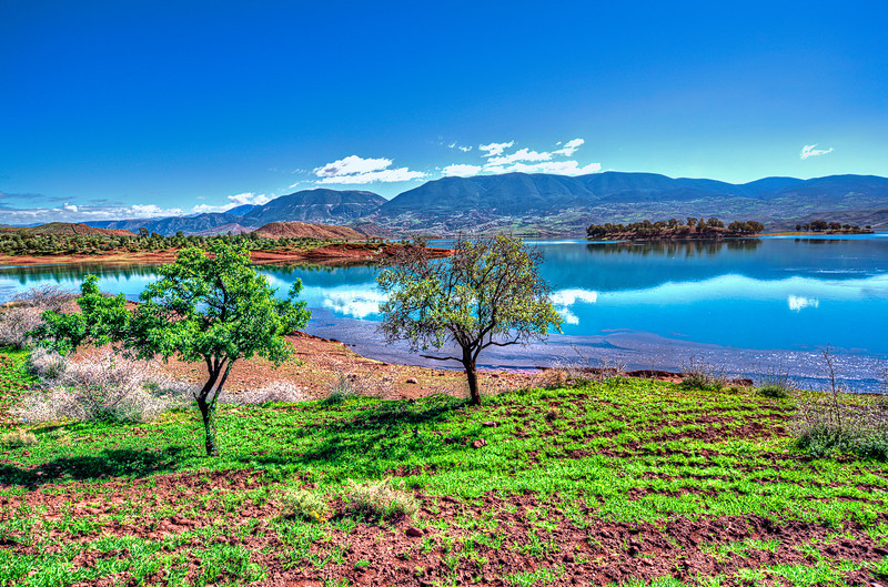 Unspoiled Green Africa. Morocco.