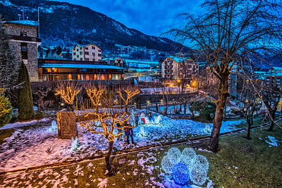 Winter in Andorra