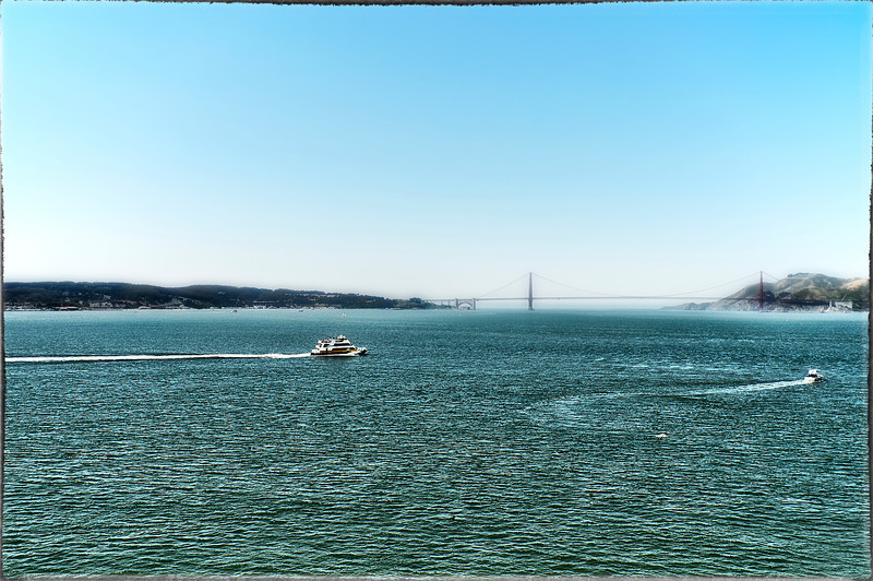 Cold Water and Fog in San Francisco bay