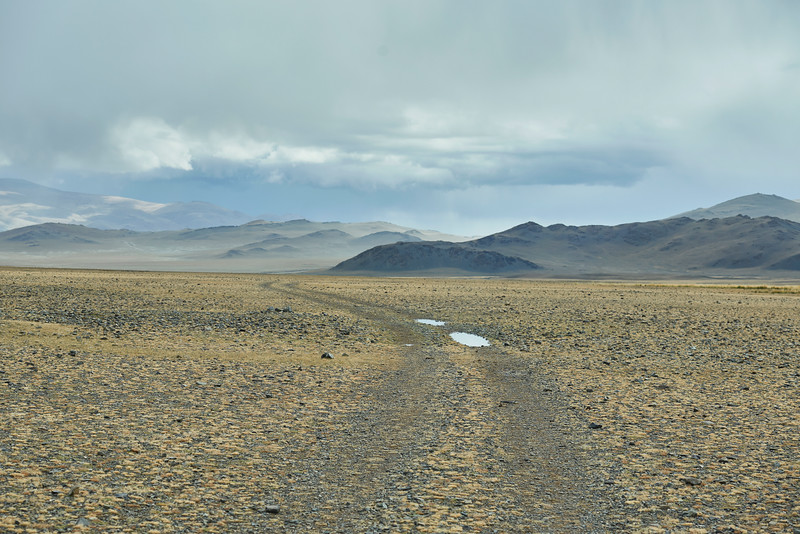 Federal South Road. Mongolia.