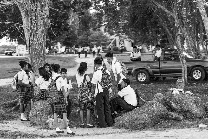 Belize. After school