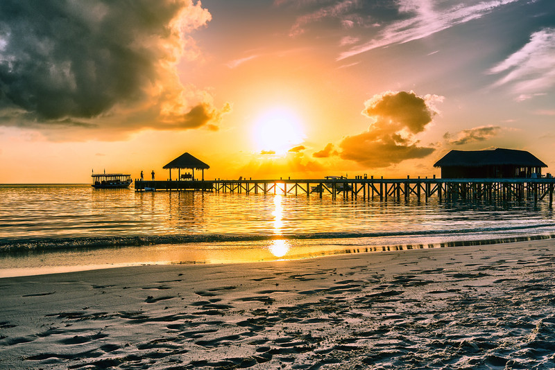 Another Sunset in Maldives