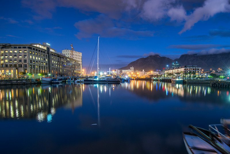 Night in Cape Town