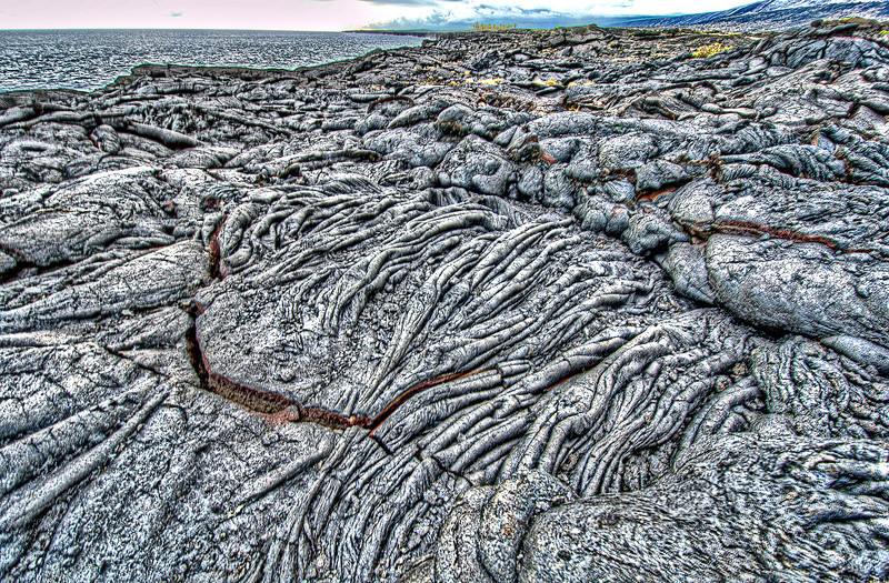 Lava, Big Island. Hawaii.