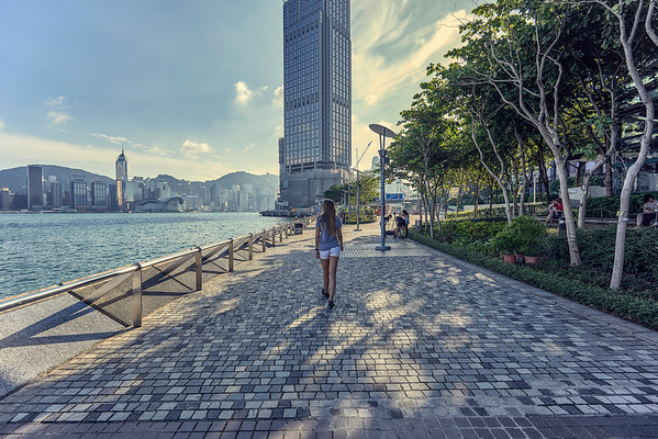 Walk in Hong Kong
