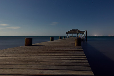 Blue deck. Belize.
