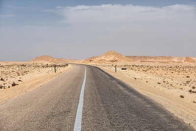 Alone in Western Sahara