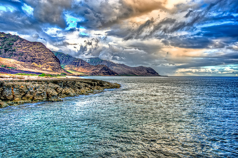Colours of Hawaii. <br /> O'ahu