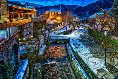 Andorra @ night