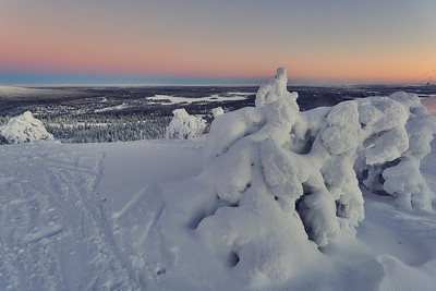 Once in Ruka. Finland.