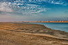 Low tide in Western Sahara