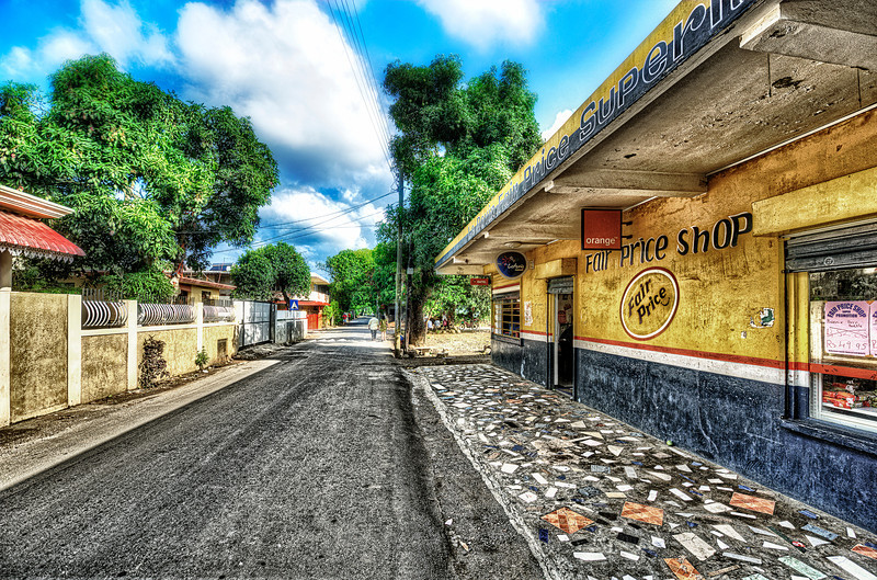 Streets of Mauritius