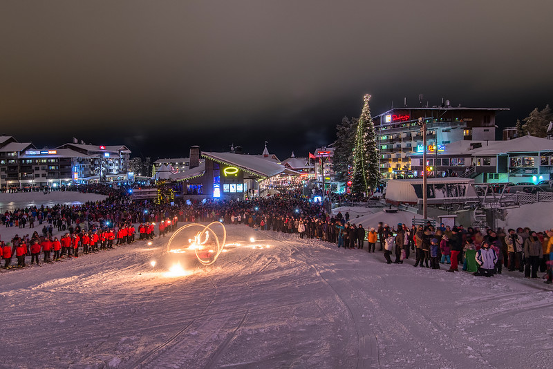 Waiting for New Year in Ruka