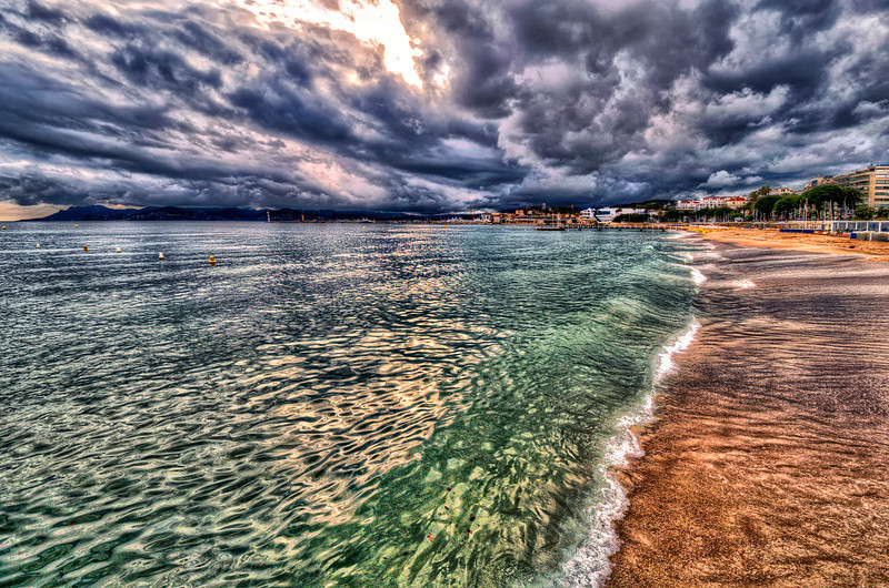 Cannes, France. Waiting for Sun.