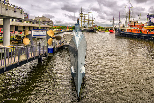German Submarine in Bremerhaven