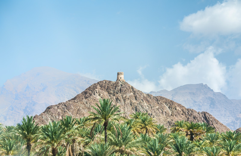 On the way to Muscat. Oman.