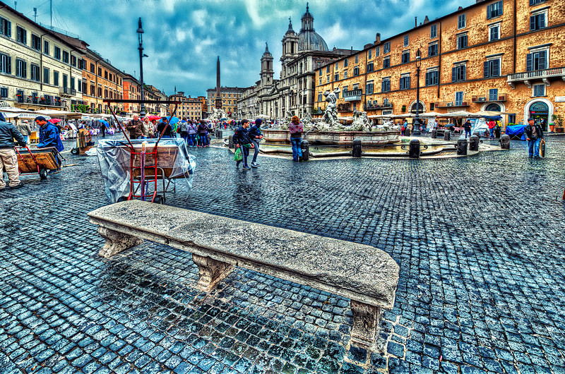 Rome after rain