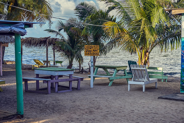 welcome... Belize.