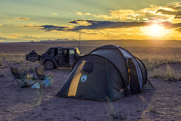 One night in Mongolia