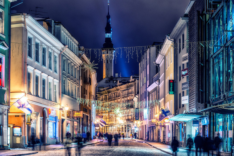 Night in Tallinn