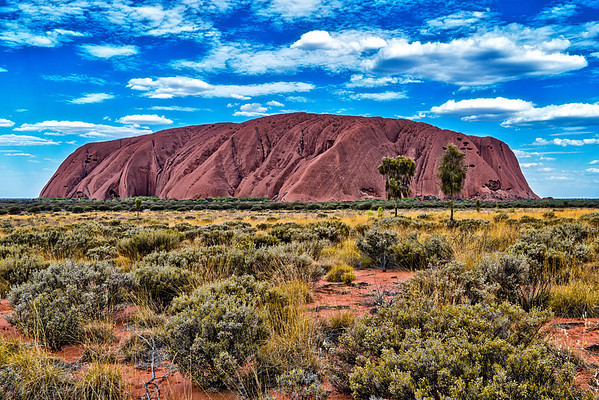 Long way to Uluru